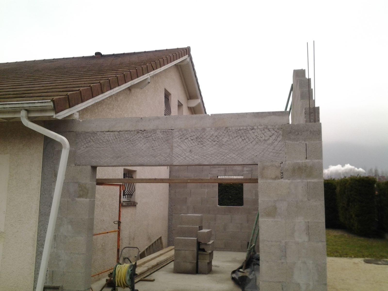 extension d habitation bmp charpente. Black Bedroom Furniture Sets. Home Design Ideas