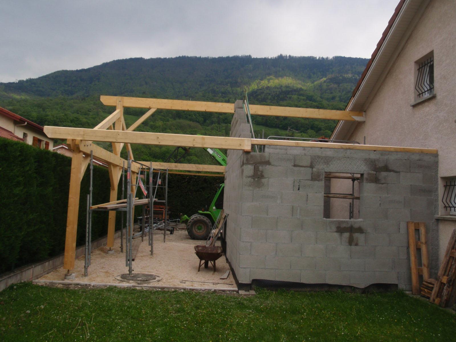 Extension Habitation extension d'habitation | bmp charpente