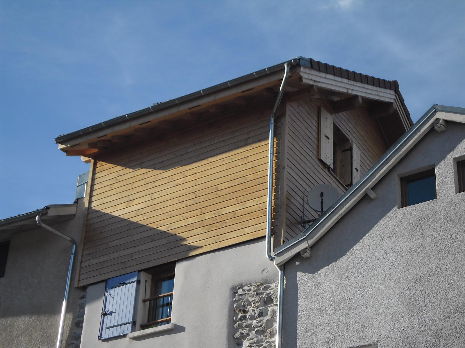 agrandissement d habitation bmp charpente